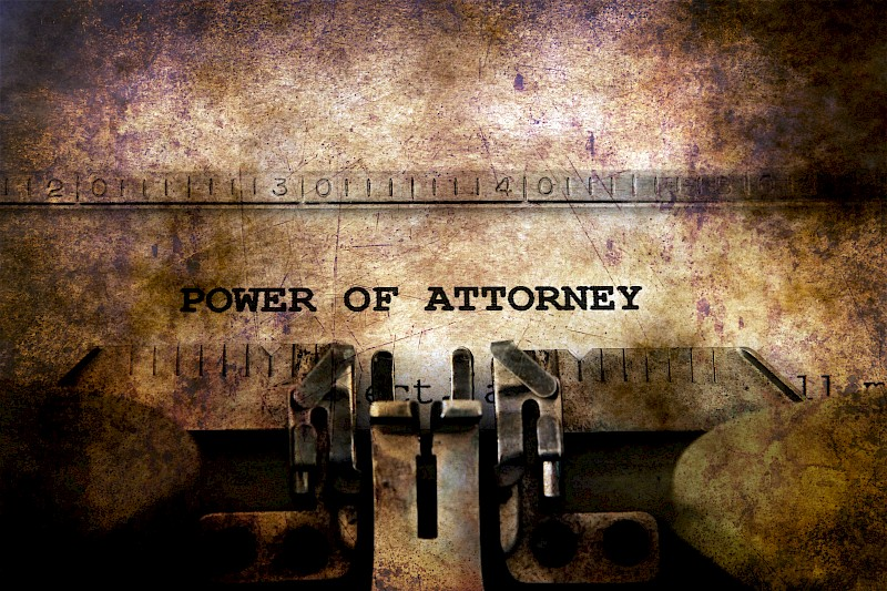 Power Of Attorney Registrations In Scotland